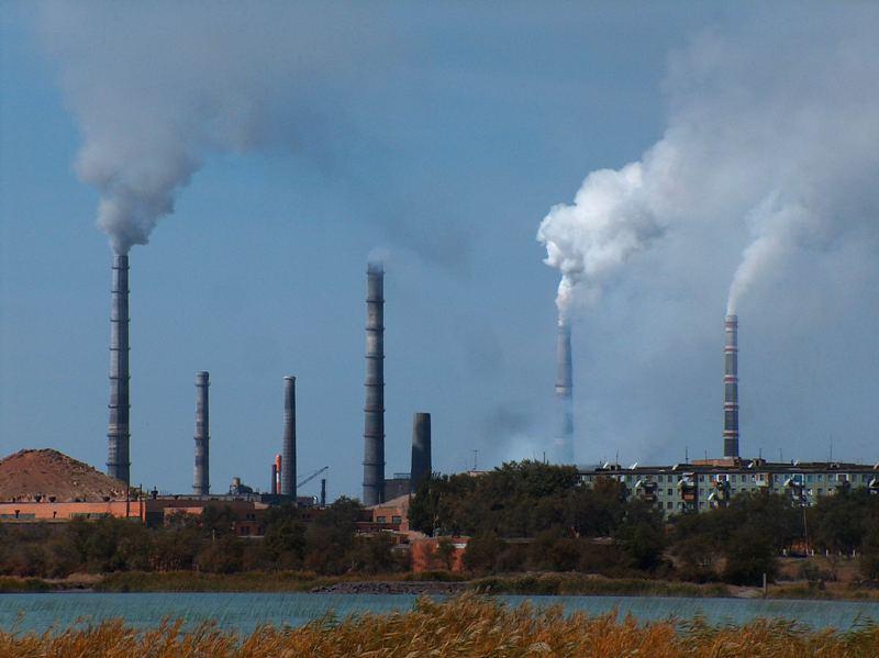 Балхашский металлургический комбинат, начало строительства в 1936 г.