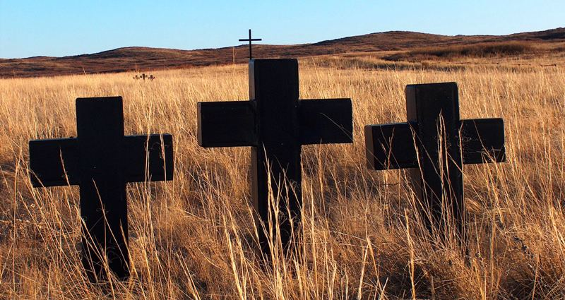 Spassky Memorial in Karaganda area.