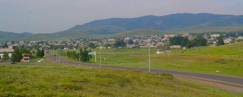 Вид на Каркаралинск.