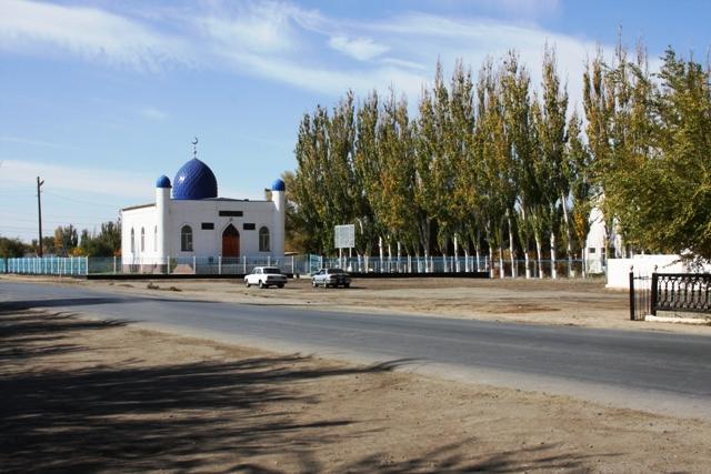 Местная мечеть в поселке.