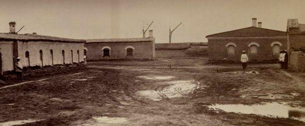 Постройки в Аральском укреплении номер 1.