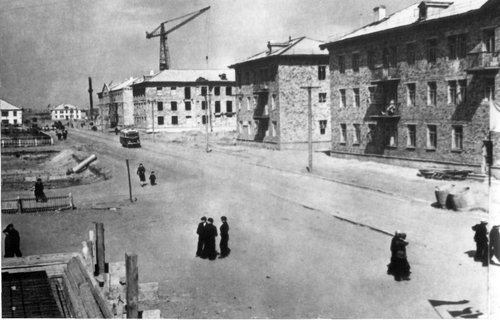Город Рудный. Конец 50-ых годов прошлого столетия.