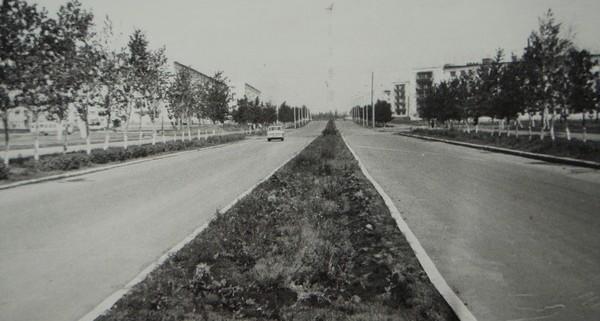 Улица 50-ти летия ВЛКСМ. 1974 год.