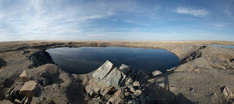 Атомное озеро.