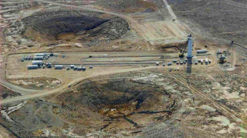 Семипалатинский ядерный полигон.