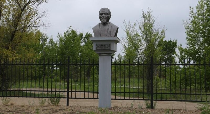 Monument of Abai Kunanbayev.