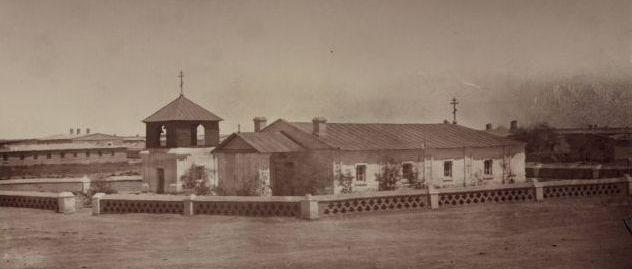 Православная церковь в укрепление Перовск.