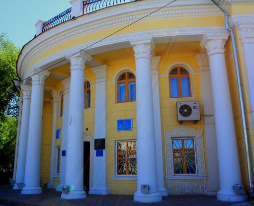 Здание городского историко-краеведческого музея.