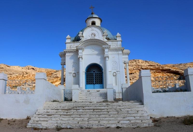 Апостольская часовня в городе Форт-Шевченко.