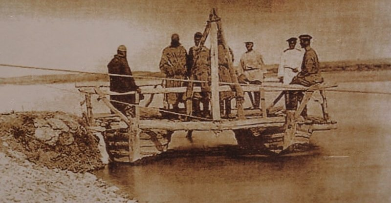 Баутинская пристань. Фотография конца XIX века.