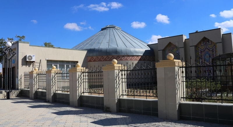 Музей этнографии в городе Форт-Шевченко.
