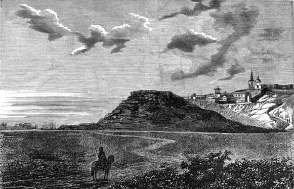 Возможно так выглядел Курган-таш в 1870-х годах XIX века.