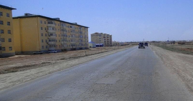 Zhanaozen town.