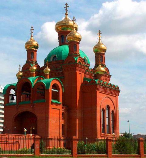 Благовещенский Кафедральный собор города Павлодара.