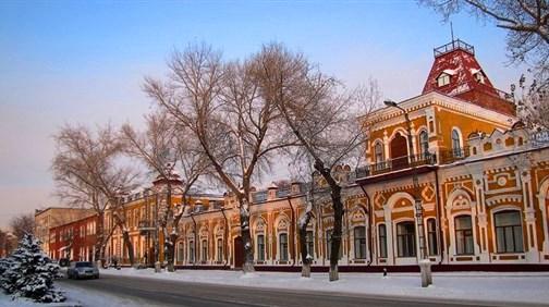 В настоящее время Торговый дом купца А. Дёрова, соединен с домом Филатова.