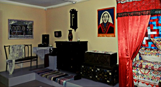В доме-музее певицы и композитора Майры Шамсутдиновой.