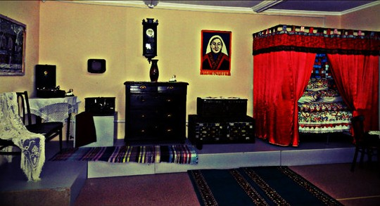 Экспонаты в доме-музее Майры.