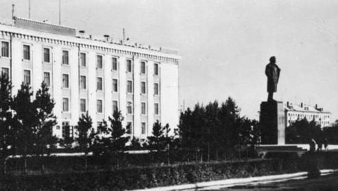 Здание областного Исполнительного комитета.