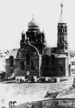 Владимирский храм. Фотография Д.П. Багаева.