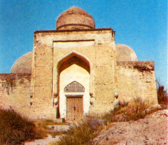 Mausoleum of Abdel Aziz Bab. Photo of the 80s of the XX century.