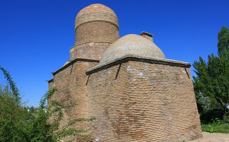 Mausoleum of Abdel Aziz Bab.