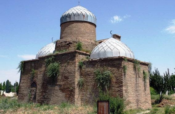 Mausoleum of Abdel Aziz Bab. Photo of the 90s of the XX century.
