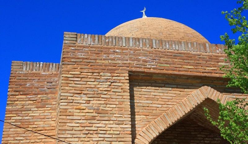 Mausoleum Ibrahim-Ata.