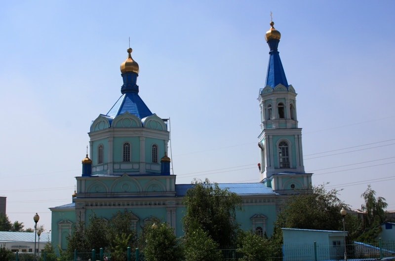 Resurrection Cathedral in Semipalatinsk.