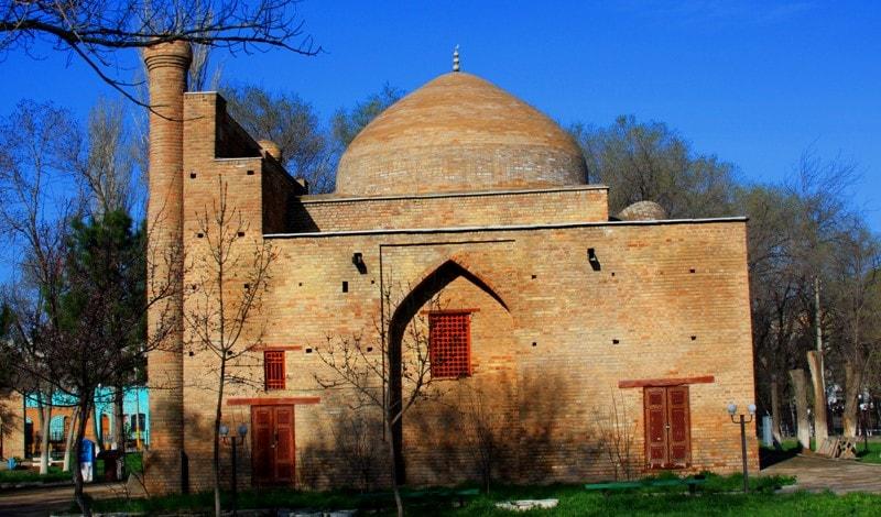 Mausoleum Karakhana in Taraz town.
