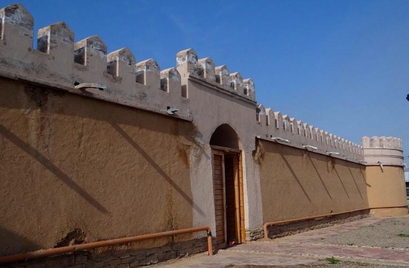 Caravanserai Tortkol in Taraz.