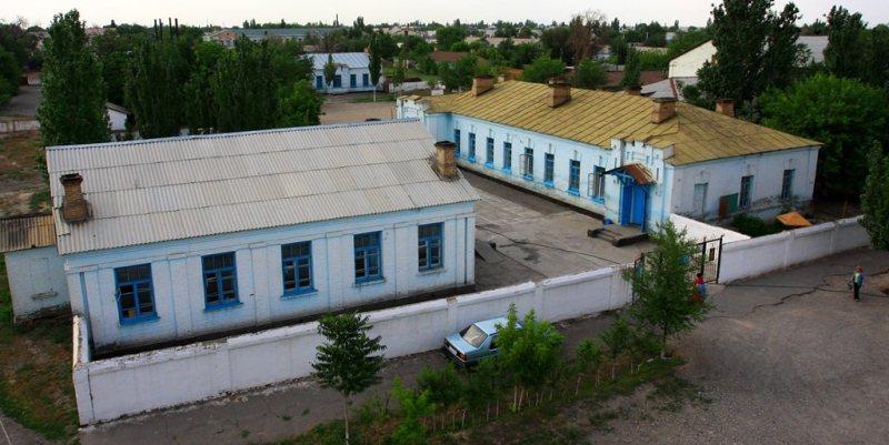 Hospital railway in Turkestan.