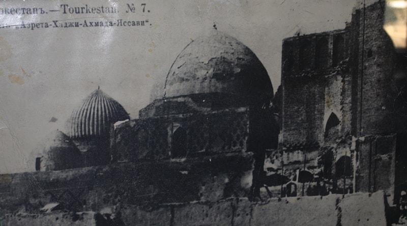 Мечеть Хазрета Яссави. Туркестан. 1870-е г.г.