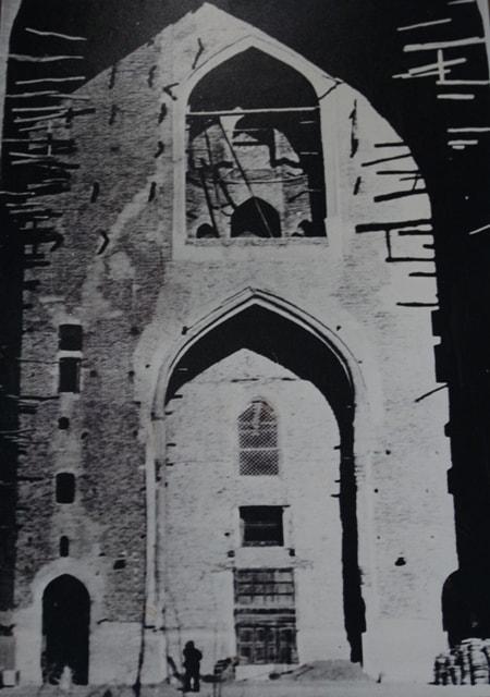 Мечеть Азарет-Султан в Туркестане. Фотография конца XVII века.