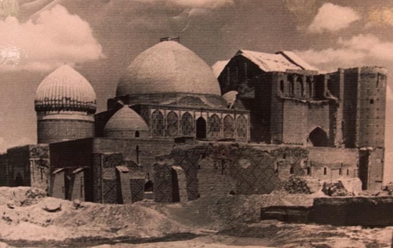 Turkestan (end of XVII, beginning of the XVIIIth centuries).