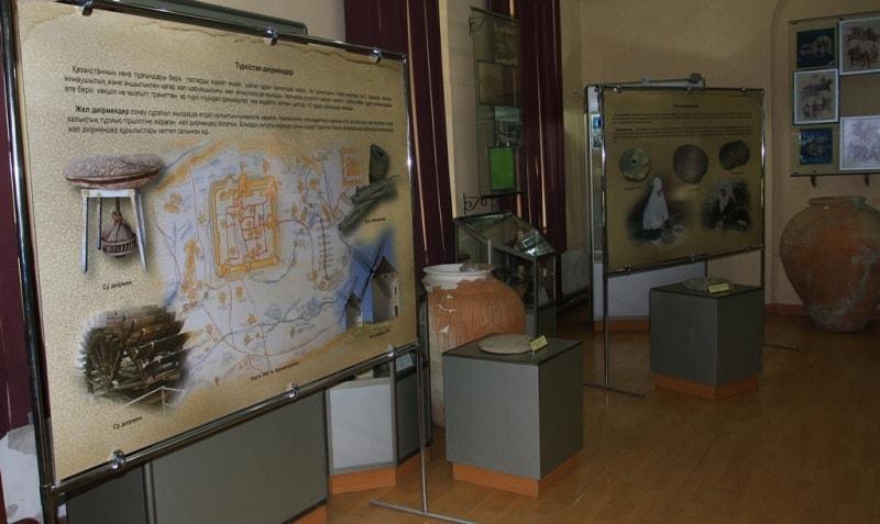 Historical museum of Turkestan.