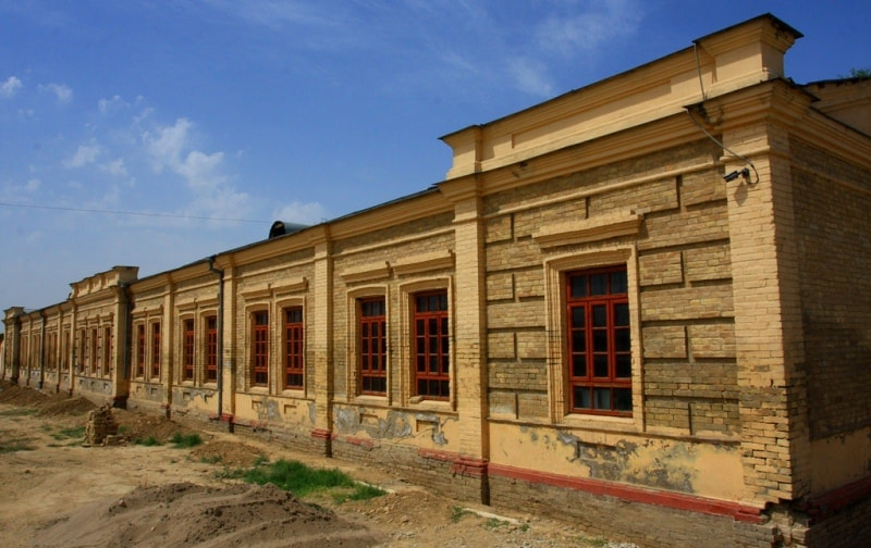 Barracks in Turkestan.