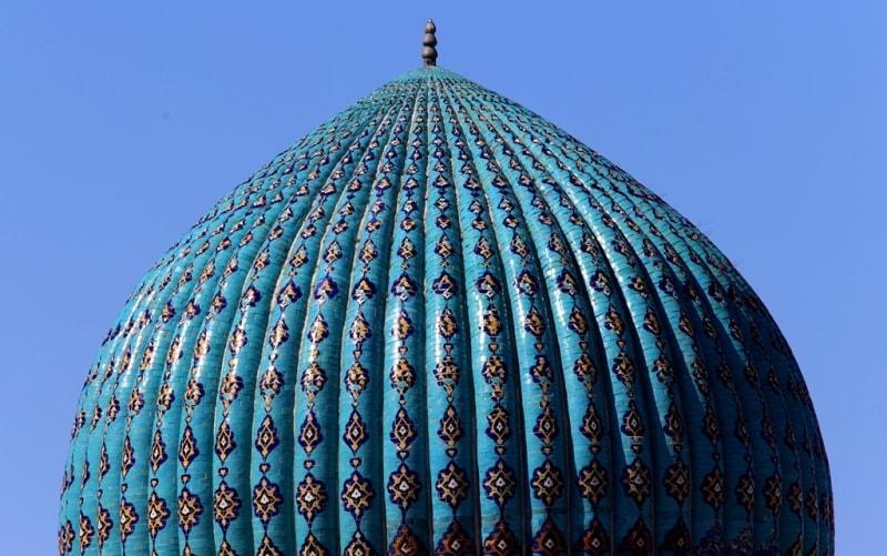 Mausoleum Akhmed Yassawi.