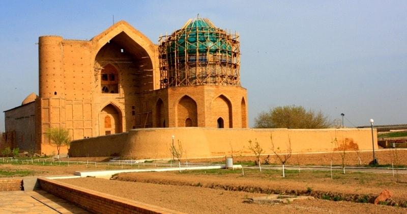 Rabiga Sultan Begim mausoleum.