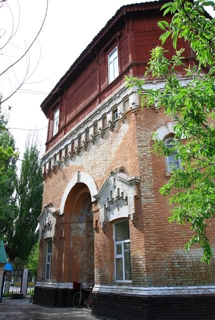 Water tower of Turkestan.