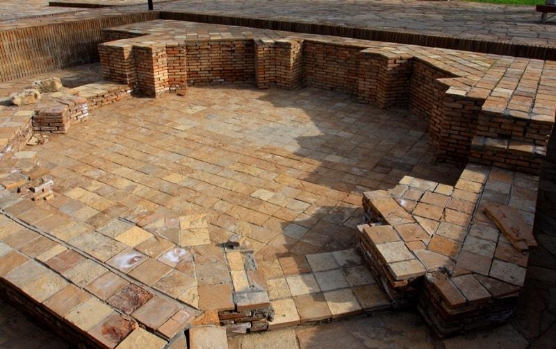The mausoleum octahedral in Turkestan.