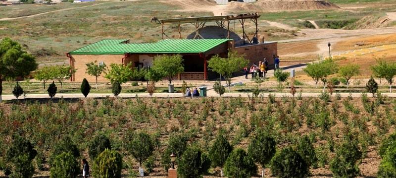 Восточная баня в Туркестане.