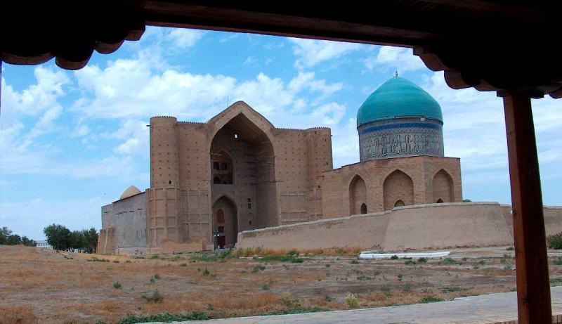 East bath of Turkestan.