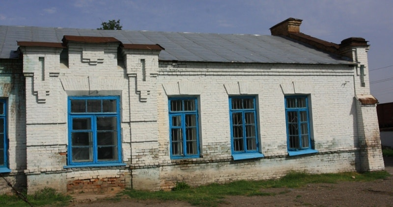 Buildings of service in Turkestan.