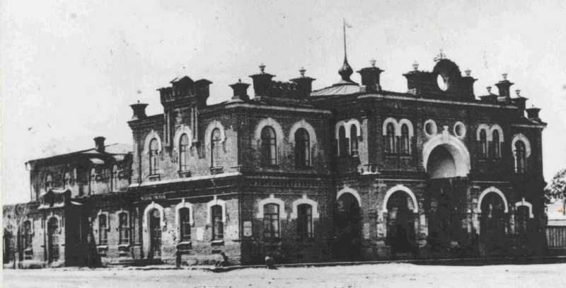 The national House in Ust Kamenogorsk in which subsequently was placed drama theatre of name Zhambyk Zhabaev.