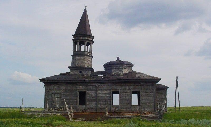 Мечеть в ауле Акколь. Строилась с 1905 по 1907 годы Фазылбековым Султангалием.