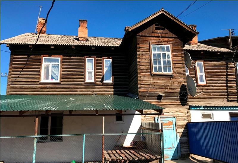 Дома постройки 30-ых годов прошлого столетия.