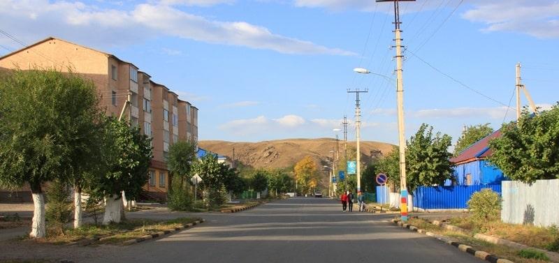 Город Зайсан.