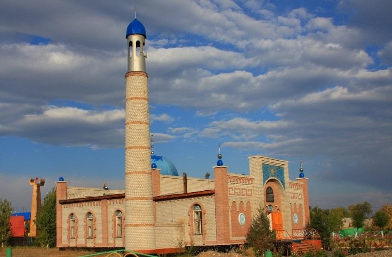 Town of Zaysan.