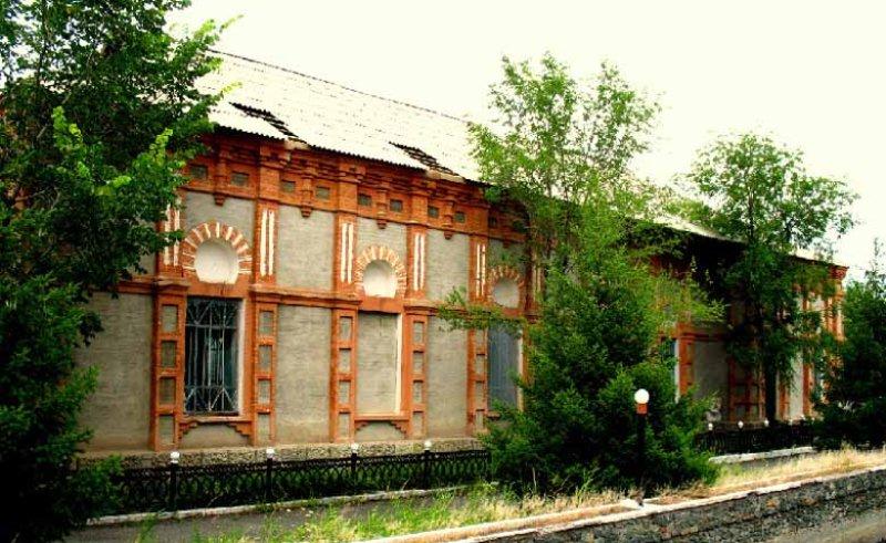 Старая мечеть в Зайсане.