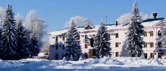 Зыряновская зима.
